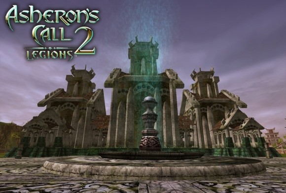 Asheron's Call 2 fountain