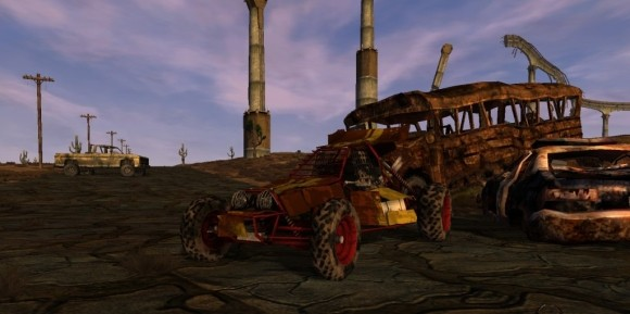 Fallen Earth dune buggy