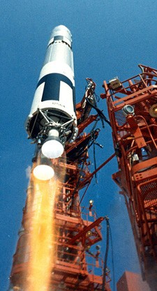 Gemini liftoff