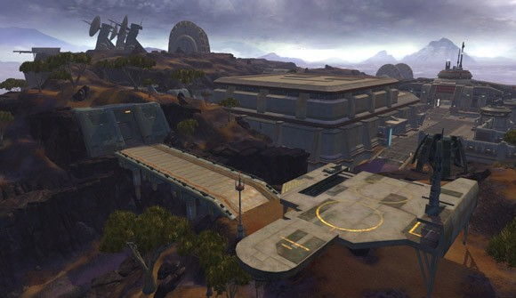 Star Wars The Old Republic - Wide shot