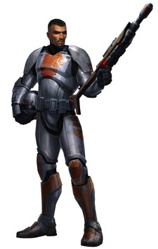 Star Wars The Old Republic - Trooper concept art