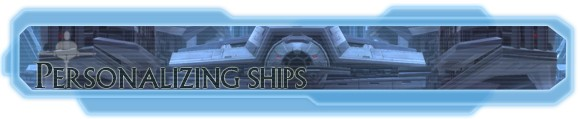 Hyperspace Beacon: Personalizing ships