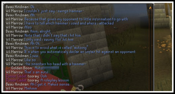 RuneScape chat screenshot