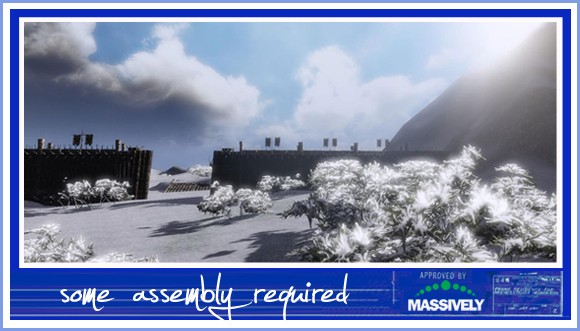 Mortal Online - fort in the snow