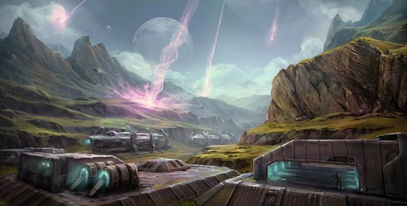 Tribes: Ascend - Drydock map
