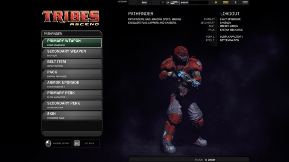 Tribes Ascend - Modifying the Pathfinder