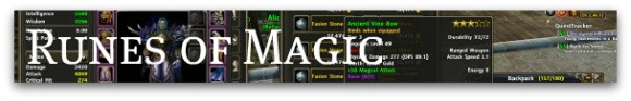 Runes of Magic banner