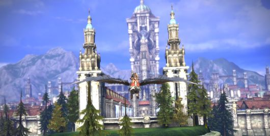 Flying into Velika