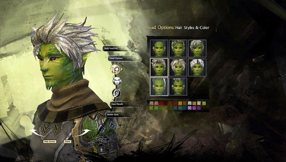 Sylvari head options
