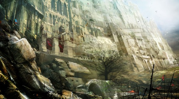 Guild Wars 2 - Fortress concept art