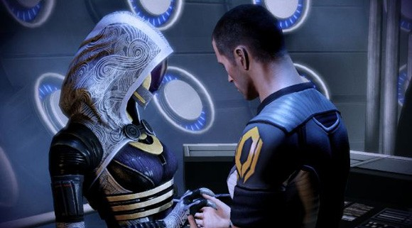 Mass Effect 2 - Shepard and Tali