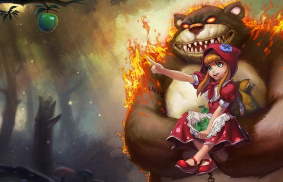 League of Legends Chinese Red Riding Annie Screenshot