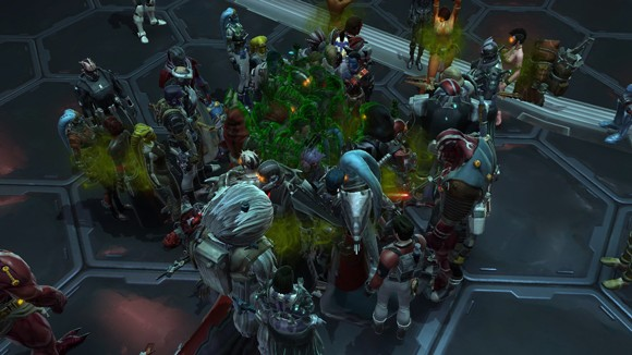 SWTOR: Infection circle