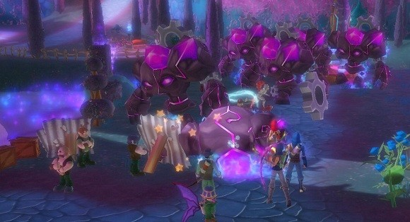 MMO Family Open World Combat and Old School Gaming in Free Realms