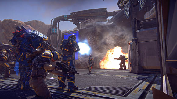 E3 2012 Crashing and burning in PlanetSide 2