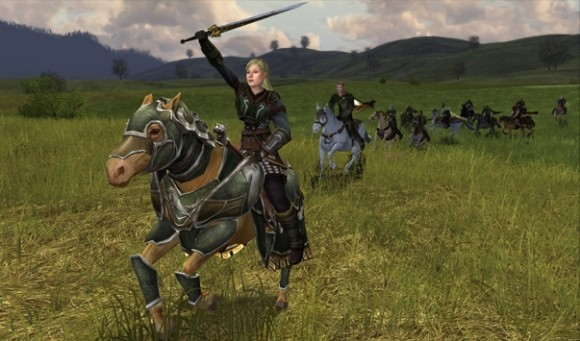 E3 2012 Exploring the freedom of LotRO Riders of Rohan