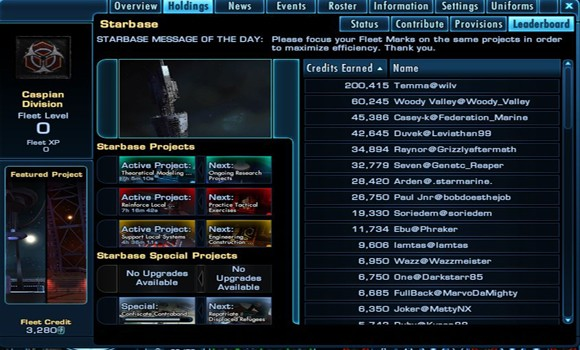 Captain's Log Star Trek Online launches Season Six! leaderboard