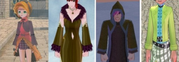 Mabinogi outfits screenshot