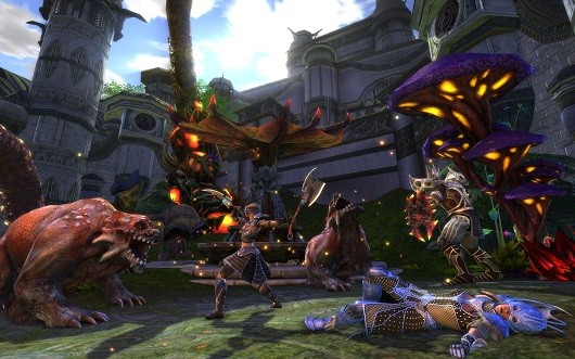Gamescom 2012 Behind closed doors with Trion Worlds
