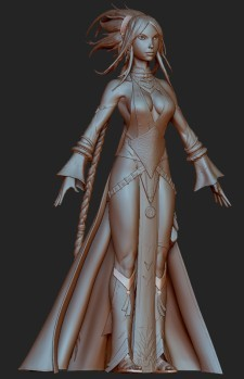 It's not that this is bad prototype modeling for Pathfinder Online, it's that this is as close as the game has come to existing at the moment.