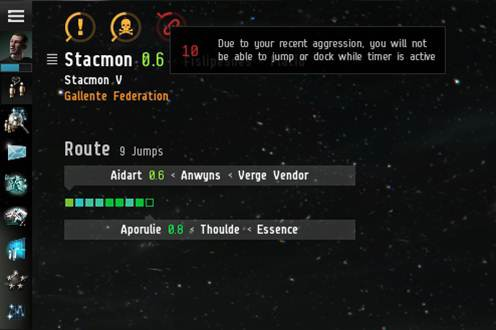 EVE Online Aggression System