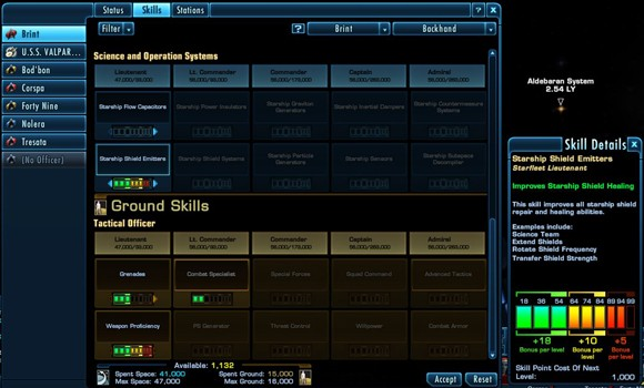 Captain's Log Star Trek Online's Skill Points and Expertise