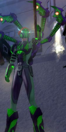 The rally on City of Heroes' Virtue server was certainly the opposite of private.
