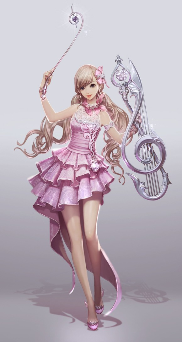 Korean dev blog reveals new Aion Troubadour class
