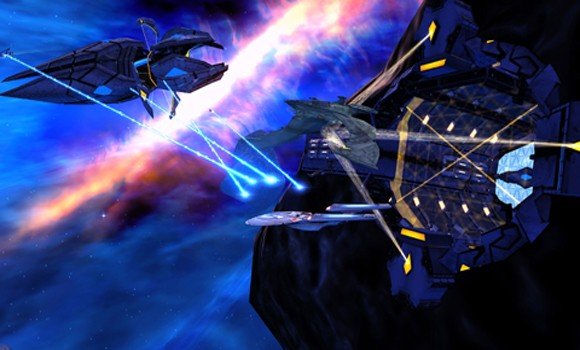STO Azure Nebula battle