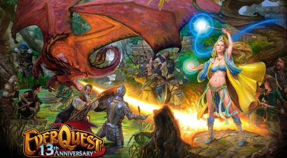 SOE Live 2012  EverQuest's Rain of Fear includes offline selling, item progression, and more