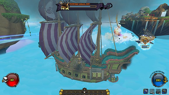 Pirate101 Ship Combat
