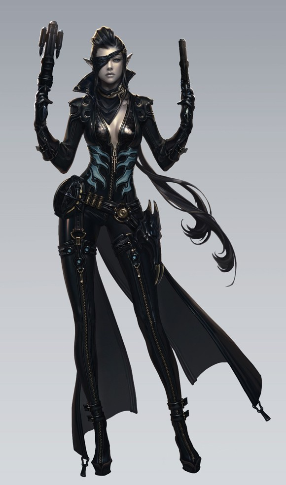 Aion gunslinger class concepts revealed