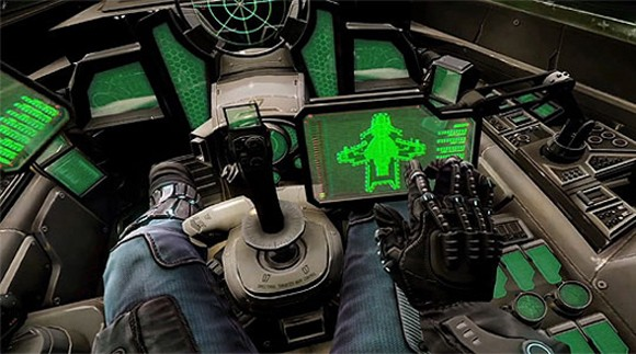 Star Citizen - virtual cockpit
