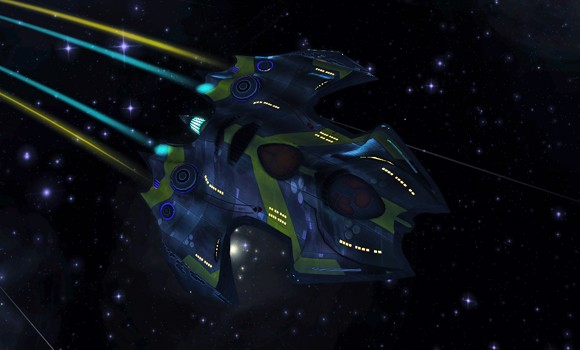 STO Wells Class temporal ship