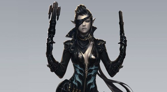 Aion rendering of gunslinger