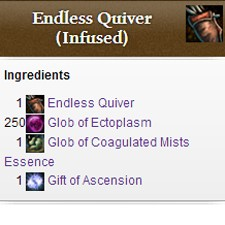 Flameseeker Chronicles Ascended gear in Guild Wars 2