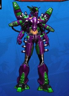 What?  I like purple, green, and robots.  Lay off.