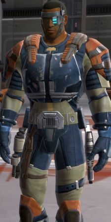 Incidentally, I'd pay good money for this outfit on my Jedi Sentinel.  Just saying.
