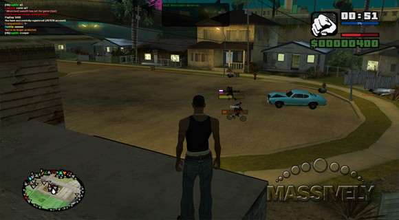 Multi Theft Auto - Carl's house spawning area