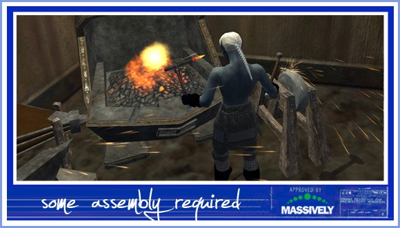 EverQuest II - crafting forge