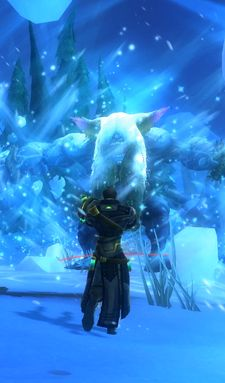 Life tip - check to make sure you've changed your spec to something useful before encountering huge ice beasts, not after.