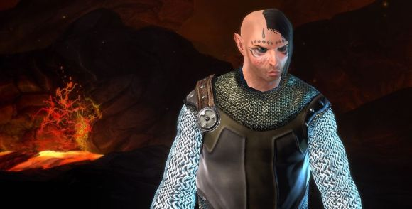 Neverwinter character creation screenshot