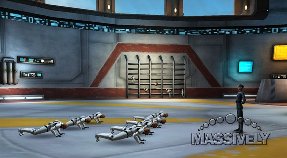 Clone Wars Adventures - Clone troopers