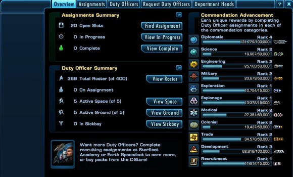 STO Expertise categories DOff