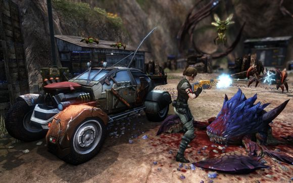 Handson with the prelaunch Defiance demo