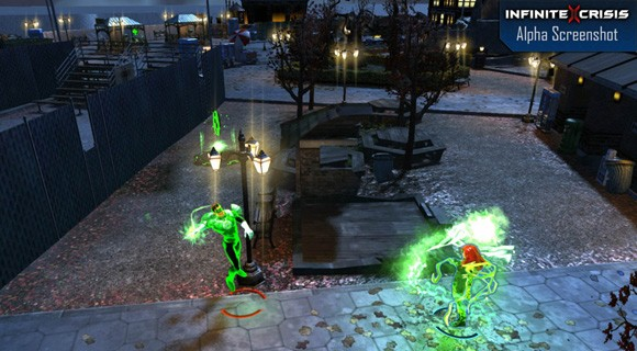 Infinite Crisis alpha screenshot