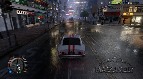 Sleeping Dogs - Rainy street racer