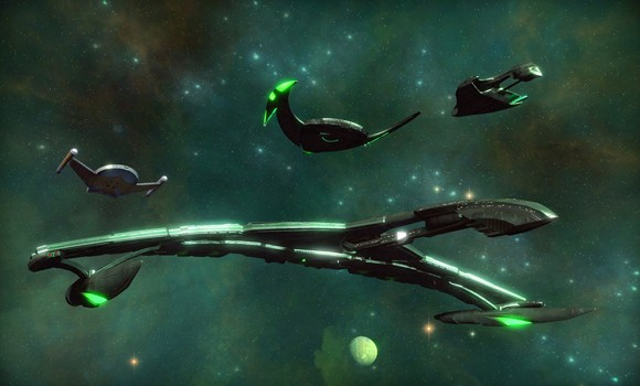 STO Romulan ships for expansion