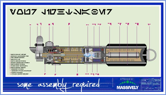 Some Assembly Required - Lightsaber schematic
