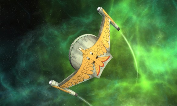 STO TOS bird of prey hero shot